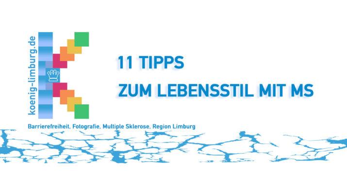 11 TIPPS ZUM LEBENSSTIL MIT MS