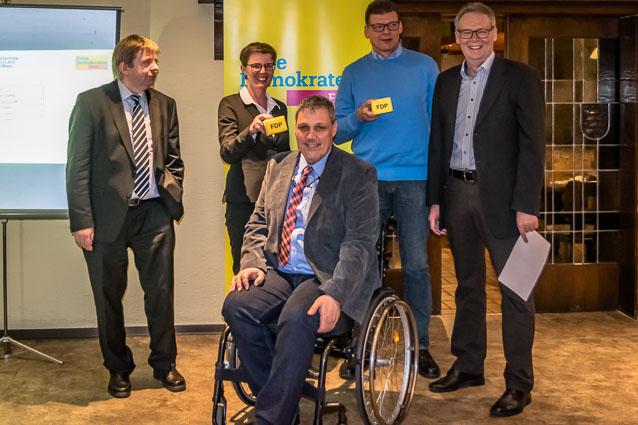 FDP-Kandidaten 1 bis 5