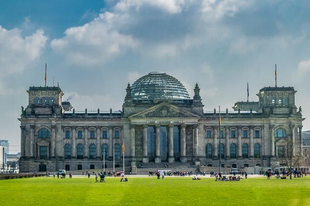Außenansicht Reichstagsgebäude
