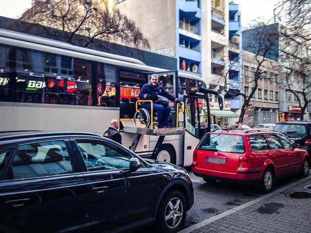 Bus ohne Barrieren
