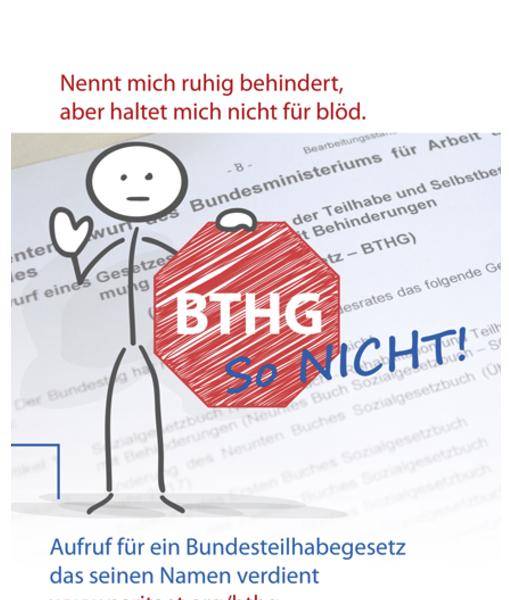 BTHG-Plakat