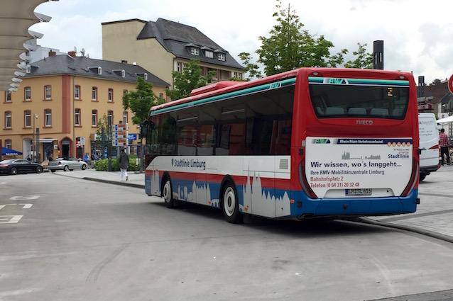 Foto: Bus der RMV Stadtlinie Limburg