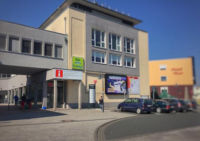 Haupteingang: Tourist-Information-WERKStadt