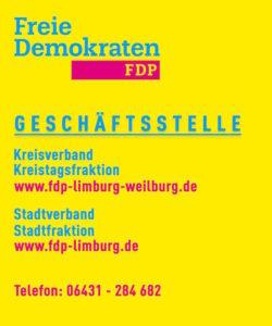 Grafik: FDP- Kreisverband Limburg-Weilburg und FDP-Stadtverband Limburg