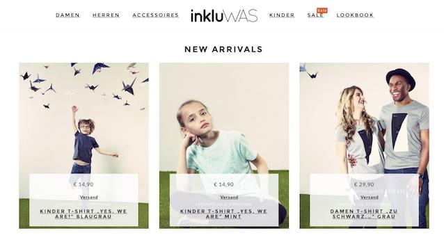 Screenshot: inkluWAS