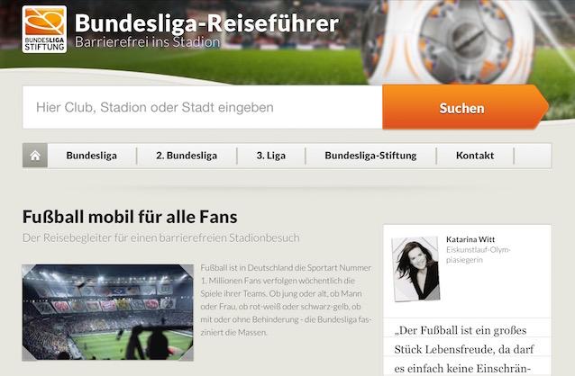 Fußball mobil für alle Fans