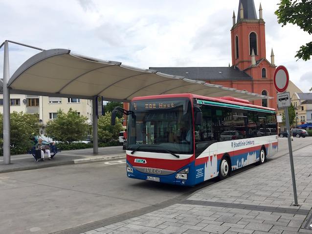 Bus der Stadtlinie Limburg
