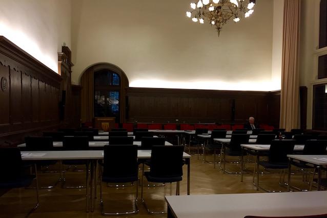 Sitzungsaal 321. im Limburger Rathaus