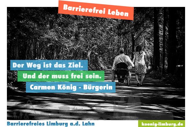 Bar·ri·e·re·frei·heit – Neues Projekt?