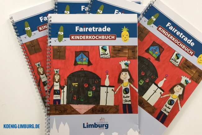 Fairetrade Kinderkochbuch der Stadt Limburg
