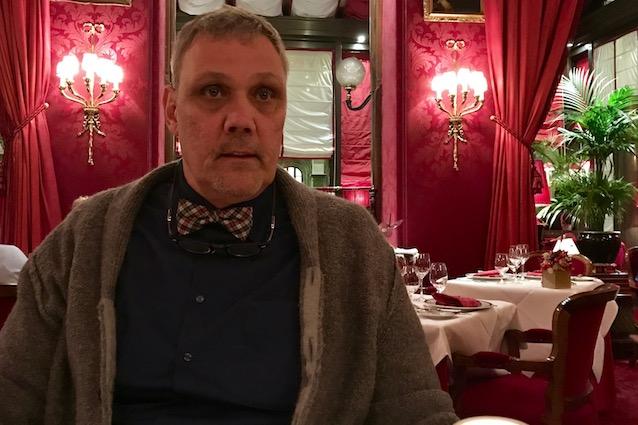 Frank F. im Hotel Sacher Wien