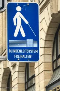 Blindenleitsystem Leipzig