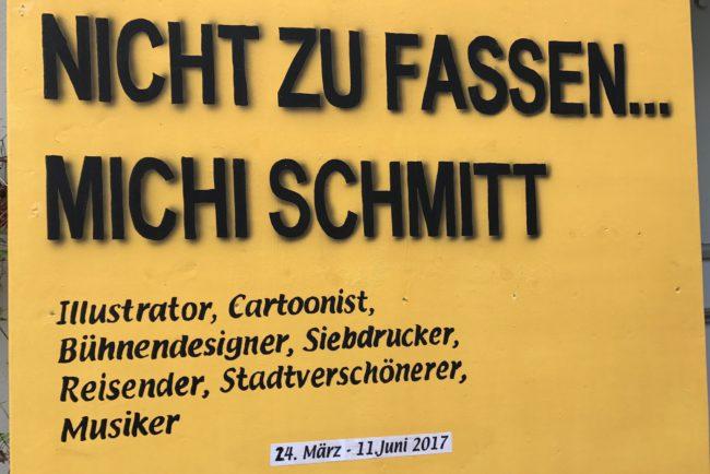 Ausstellung Michi Schmitt 24.03. bis 11.06.2017