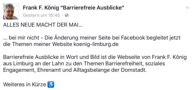 """Bildausschnitt von Frank F. König """"Barrierefreie Ausblicke"""""""