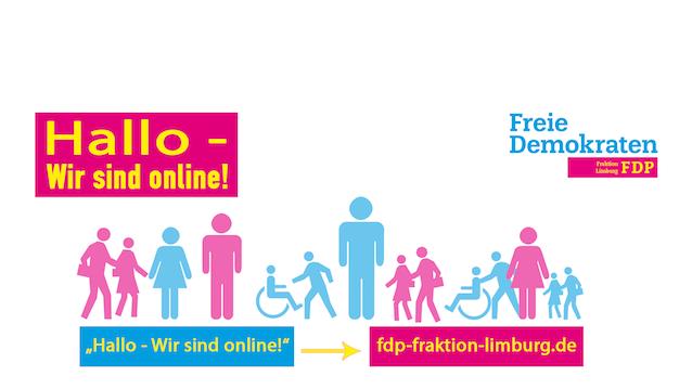 Website der FDP Fraktion Limburg