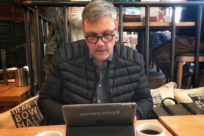 Bloggen an allen Orten - heute im Cafe..