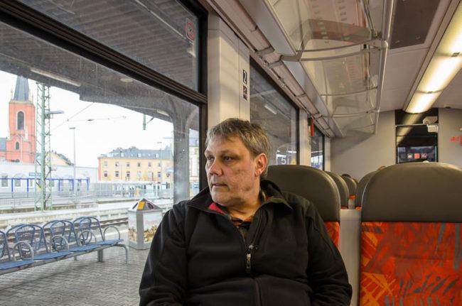 Bahnsteig in Lindenholzhausen nicht barrierefrei