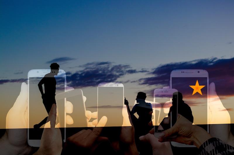 Freunde Kennzeichnen auf dem Smartphone