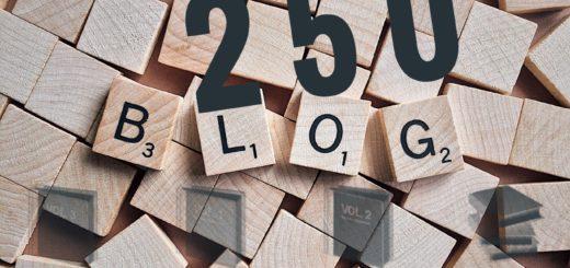 Zweihundertfünfzig Blogs