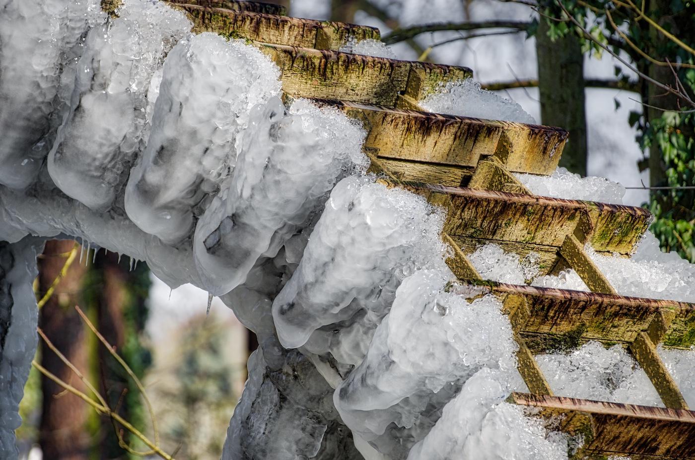 Eiszeit im Februar 2018