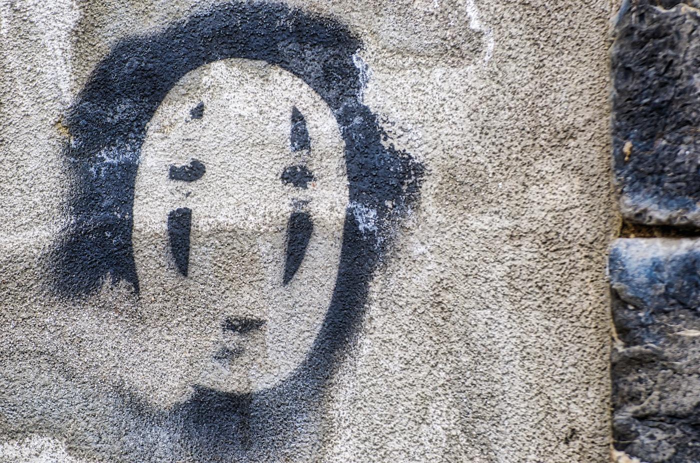 Graffiti im April 2018