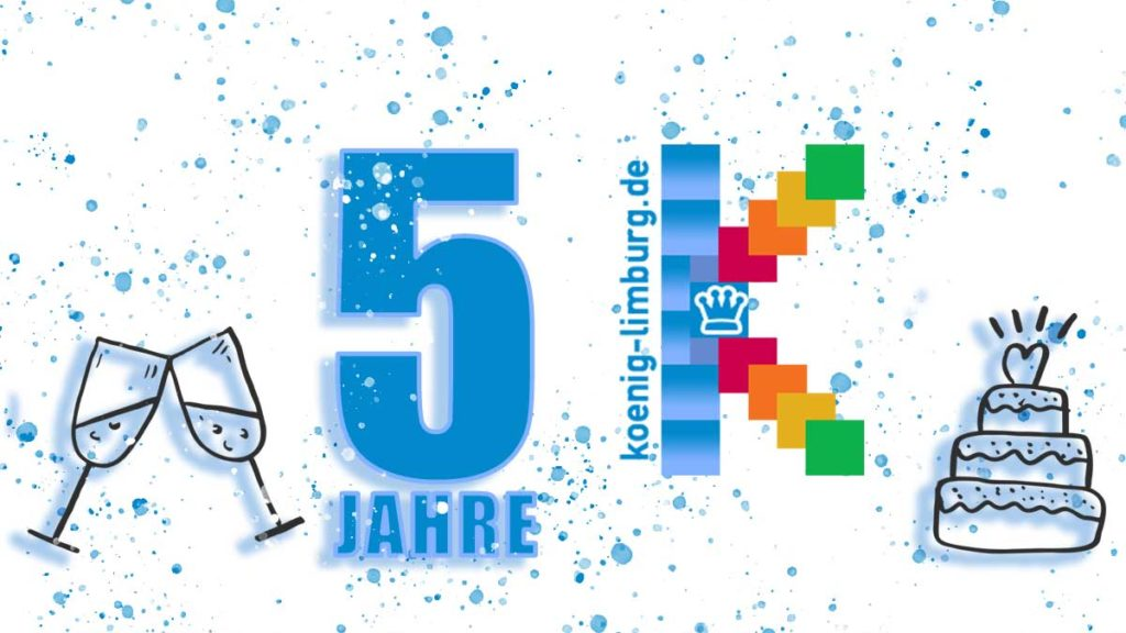 Der 5. Blog-Geburtstag steht an