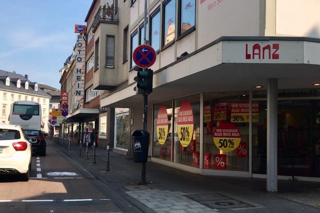 Abbau von vorhandenen Barrieren im Stadtgebiet