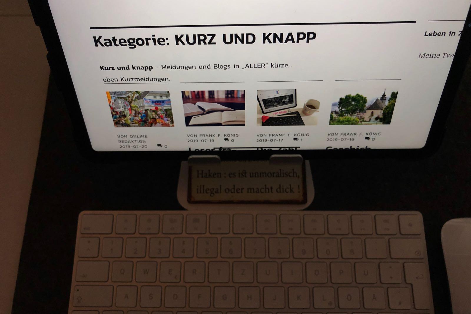 """""""Kurz und Knapp"""""""