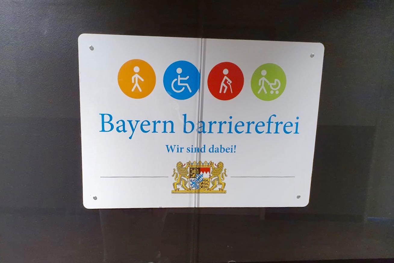 Symbole zur Barrierefreiheit