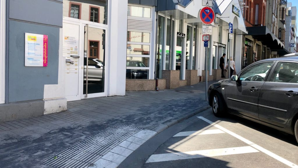 Verkehrsinfrastruktur – Behindertenparkplätze