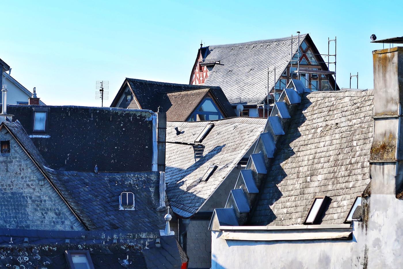 Blick über die Dächer der Limburger Altstadt