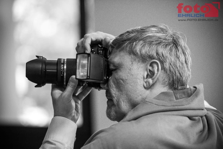 Frank alias LimFoto bei der Arbeit