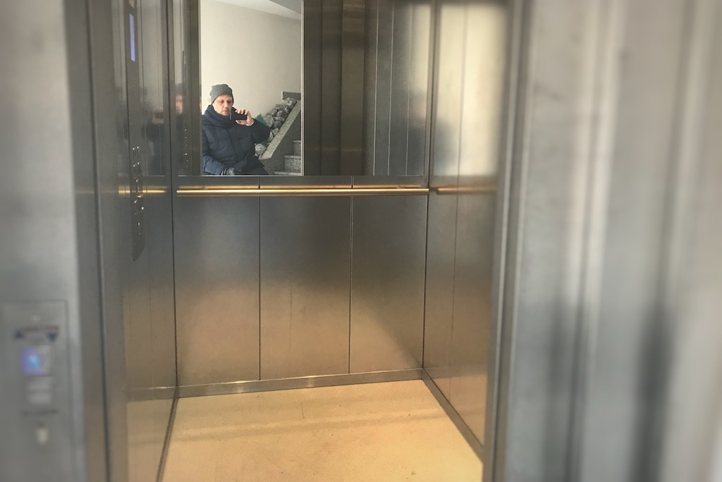 Mysteriöser Aufzug