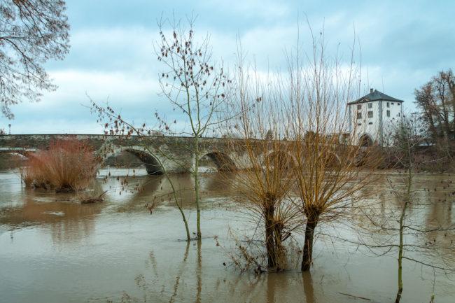 Hochwasserwarnung der Stadt Limburg