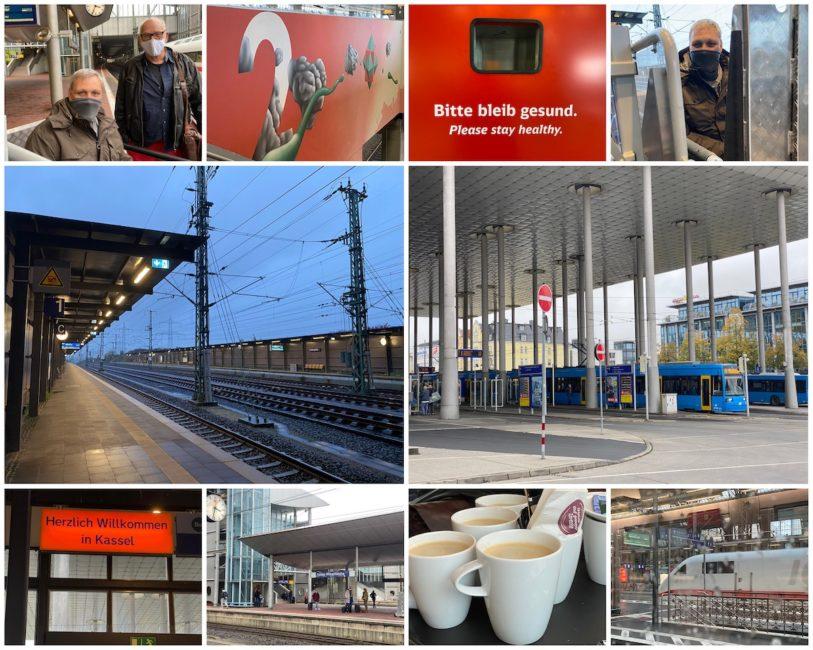 Collage - Limburg – Kassel und zurück