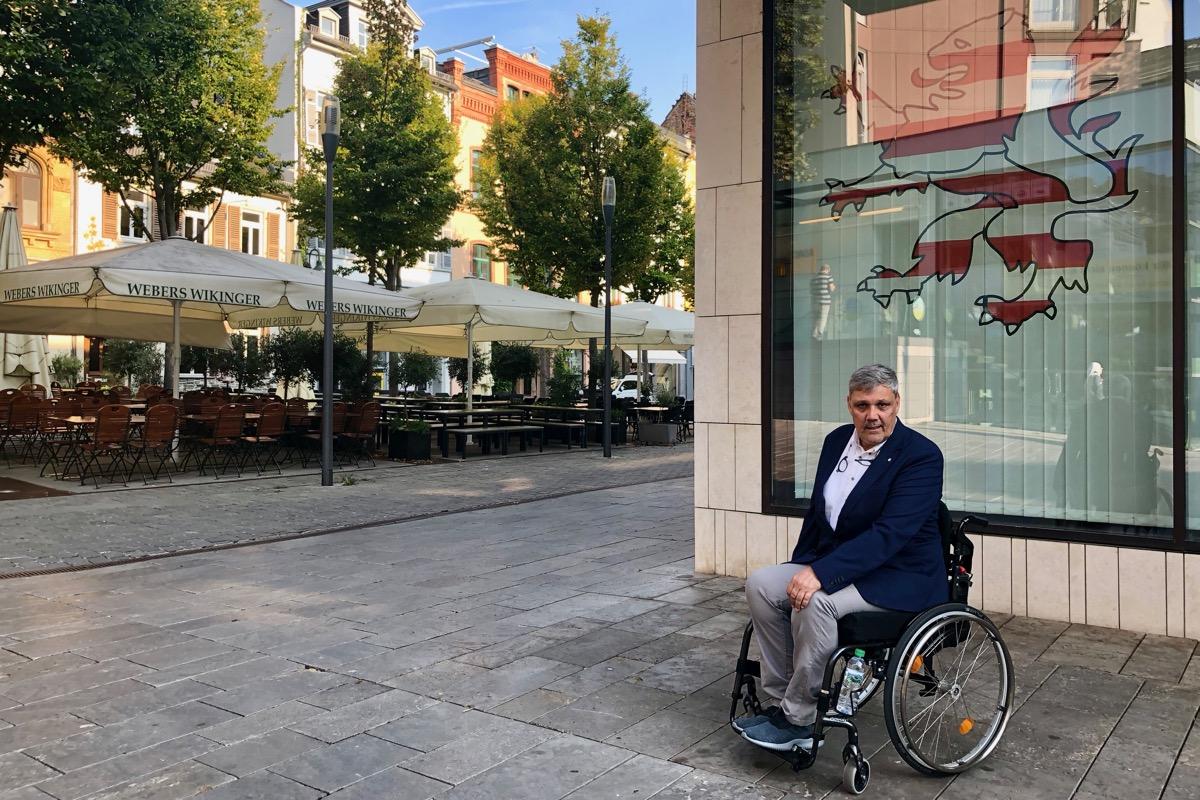 Frank der Rollstuhlfahrer