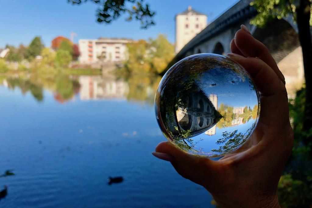 Fotografieren mit der Glaskugel