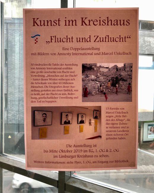 """Kunst im Kreishaus - """"Flucht und Zuflucht"""""""