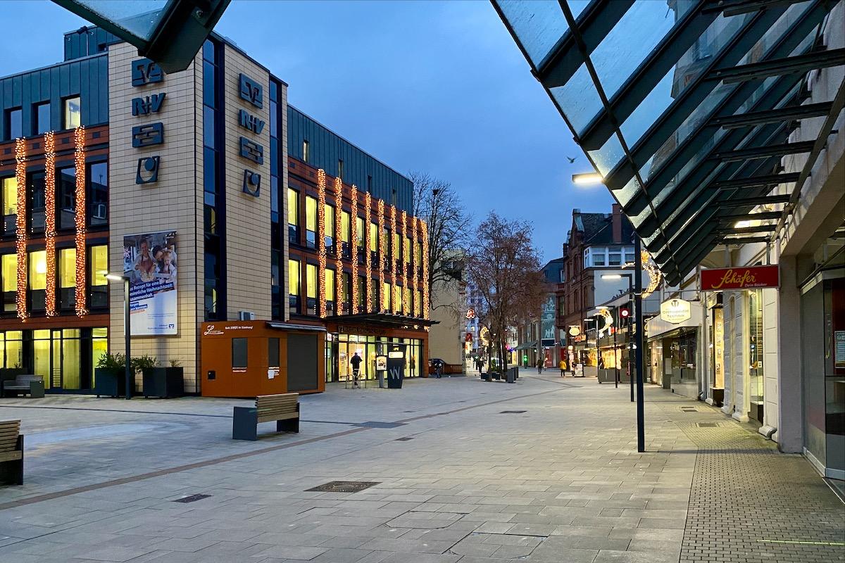 Fußgängerzone in Limburg