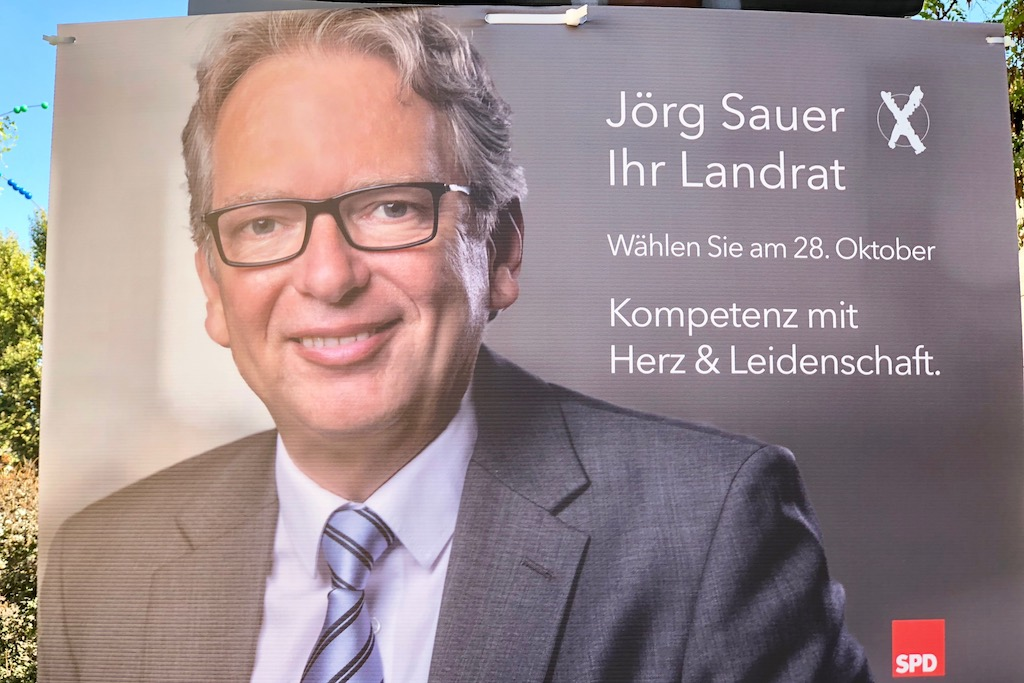 Landratskandidat Jörg Sauer (SPD)