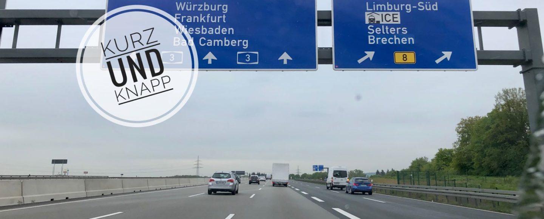A3 Abfahrt Limburg