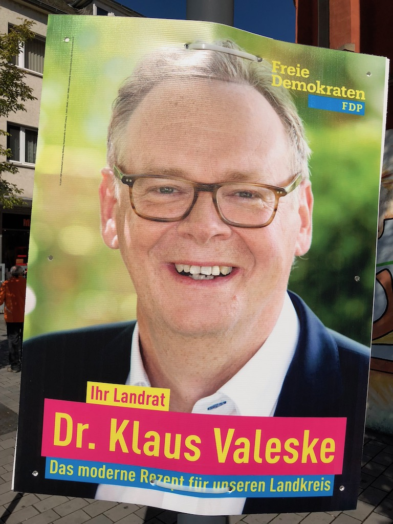 Landratskandidat Dr. Klaus Valeske (FDP)