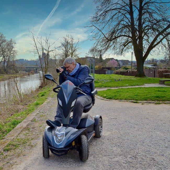 FAQ: Fotografieren aus dem Rollstuhl