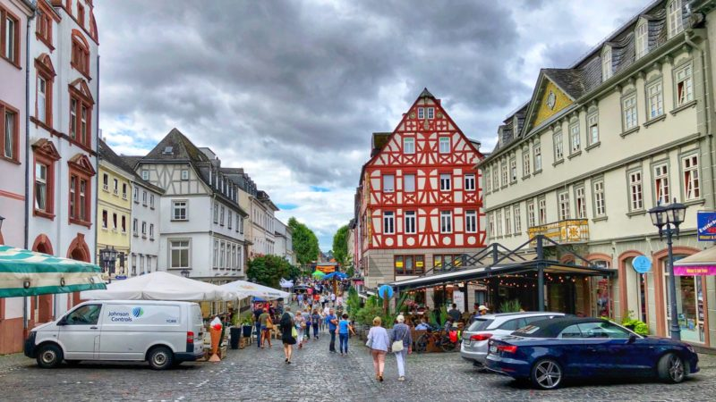 Limburger Wochenmarkt in City