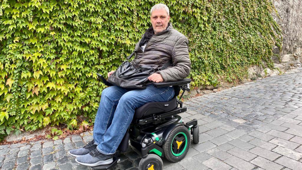 E-Rollstuhl entwendet?