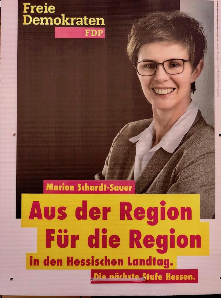 Marion Schardt-Sauer (FDP) Wahlkreis 21