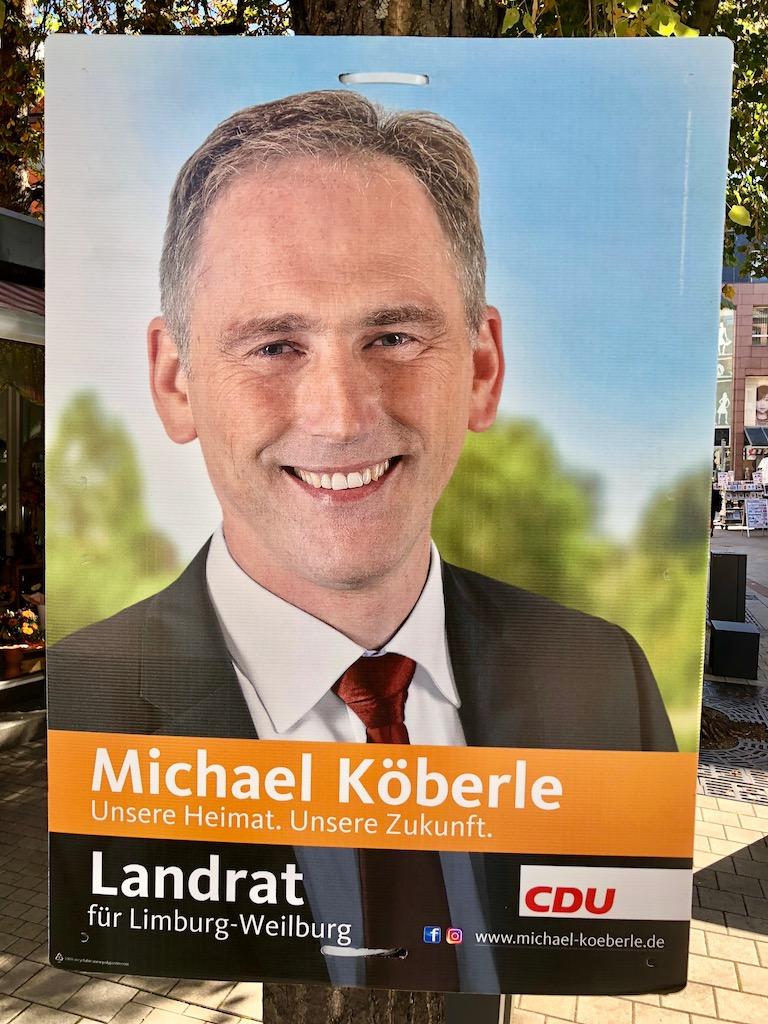 Landratskandidat Michael Köberle (CDU)