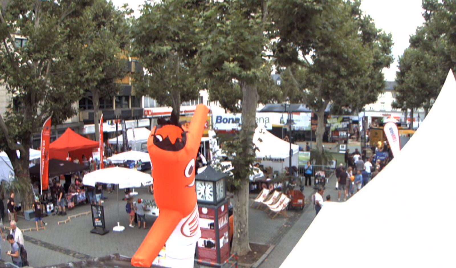Limburger Wochenmarkt in City