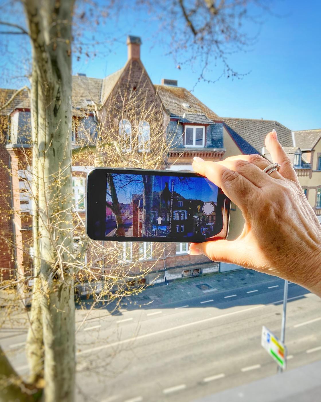 Panorama mit dem Smartphone erstellen?
