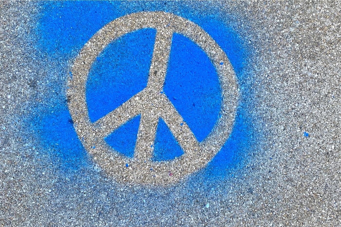 Das Peace-Zeichen wurde 60 Jahre